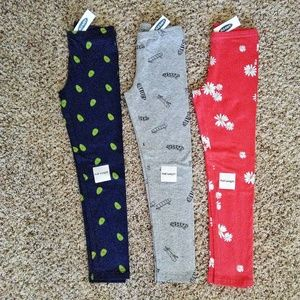 NWT Old Navy Full-Length Jersey Leggings for Girls